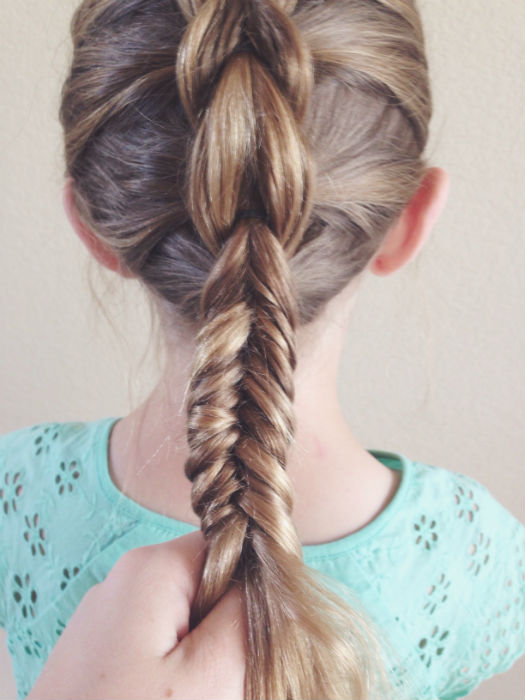 Step Eight // Outside Fishtail