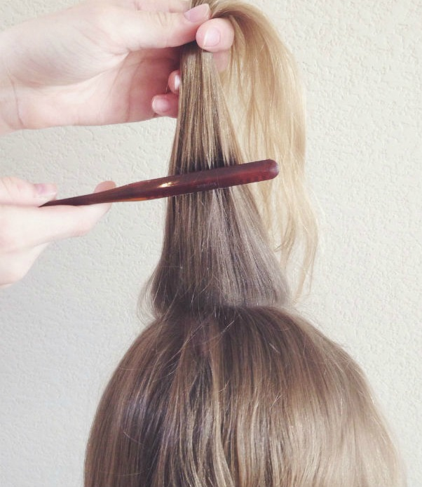 Step One // Rat hair